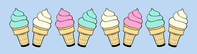 Ice Cream Header